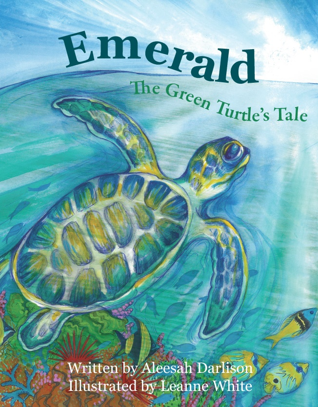 Aleesah Darlison Emerald The Green Turtle's Tale cover.jpg
