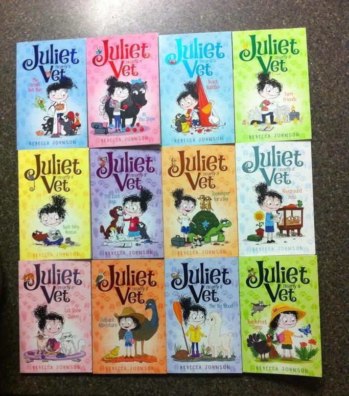 Juliet Nearly a Vet series collection.jpg