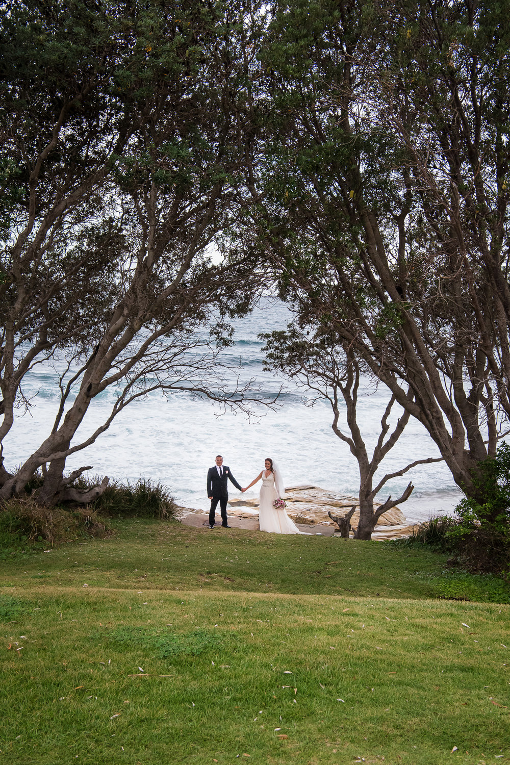 wedding photography at cronulla beach