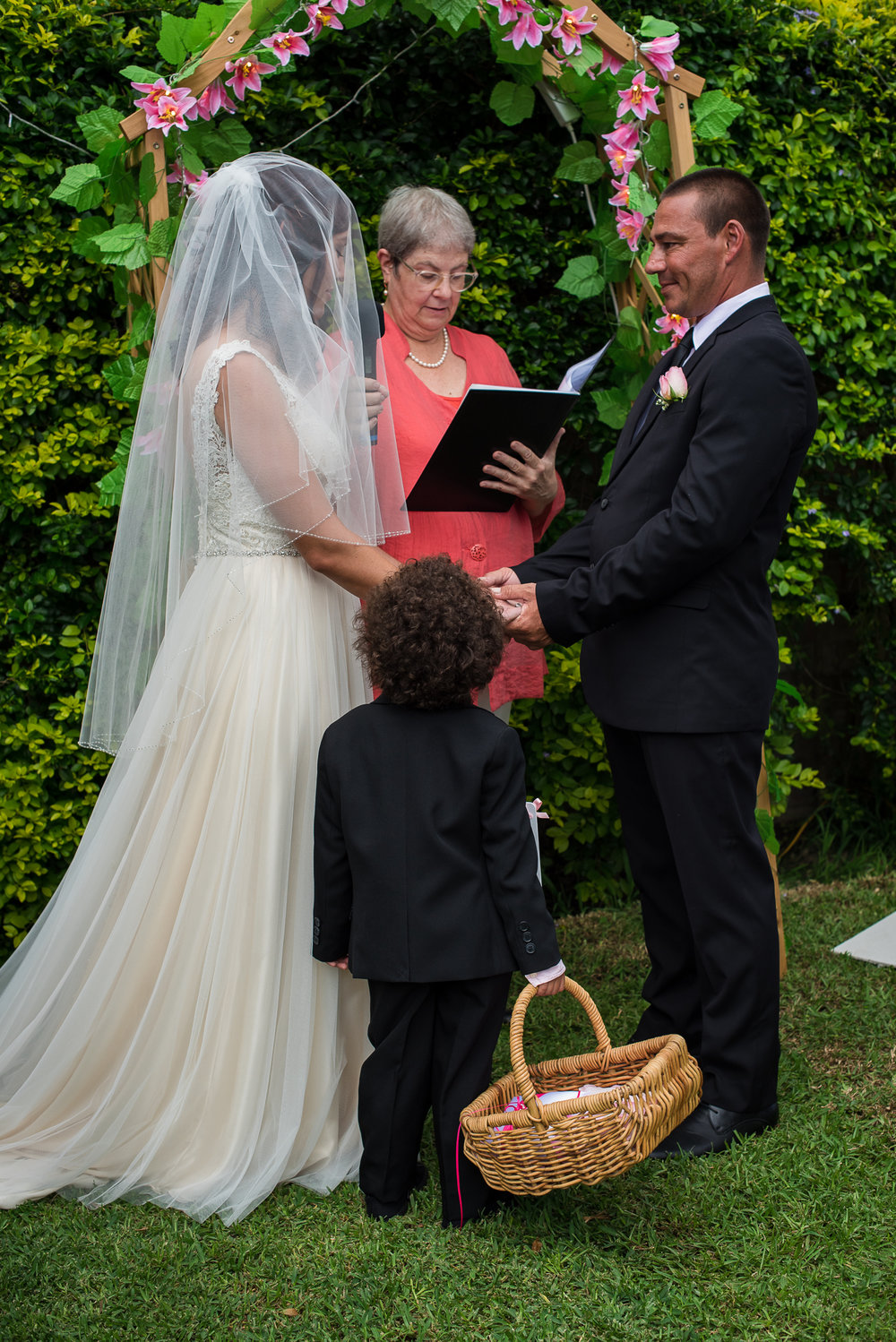 ceremony photograph by sydney wedding photographer