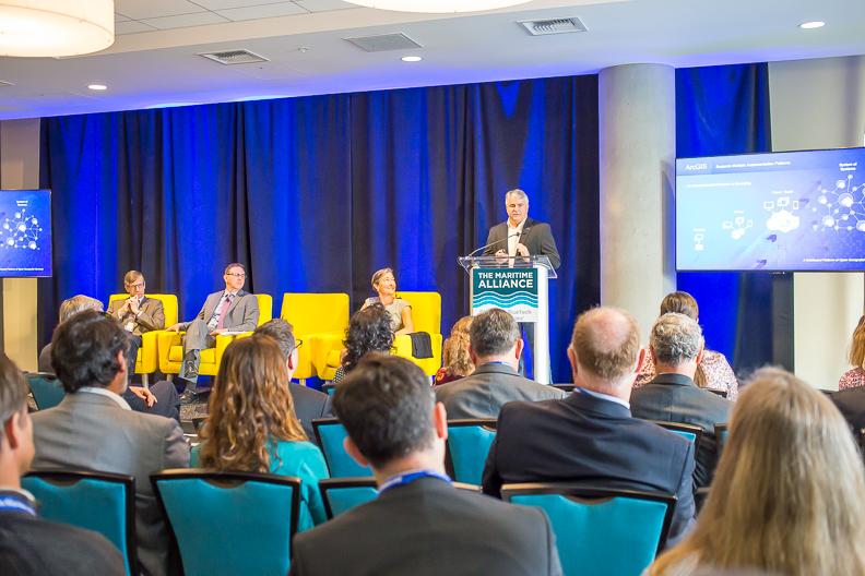 BlueTech Summit - Drew Stephens and Panel.jpg