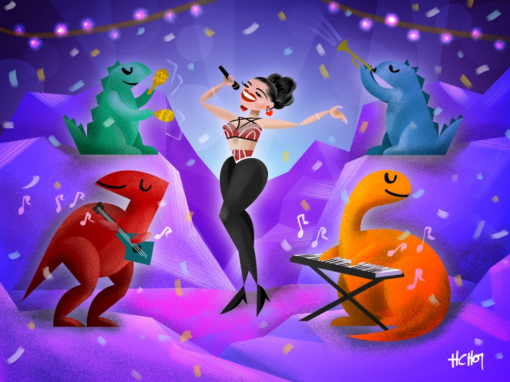 Selena y Los Dinos. Annnything for Selenaaaaaaas <3