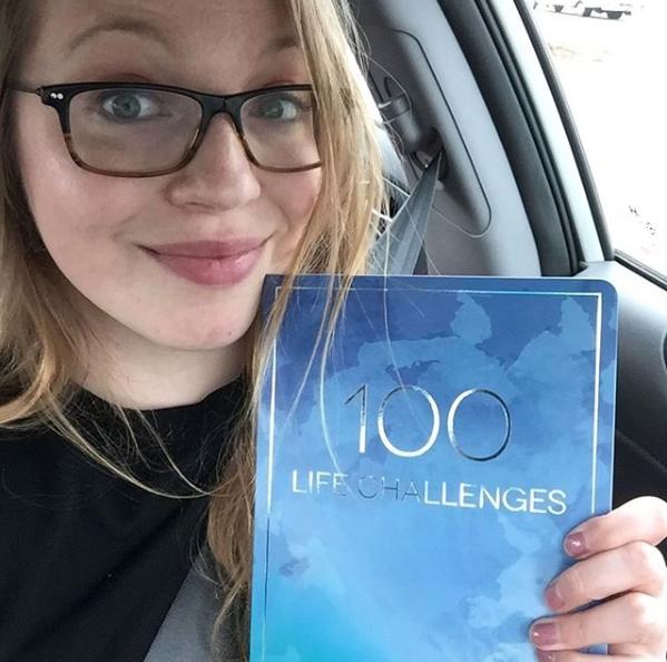 Sarah Steckler 100 Life Challenges