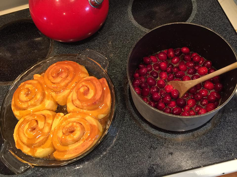 Trader Joe's Pumpkin Spice Cinnamon Rolls