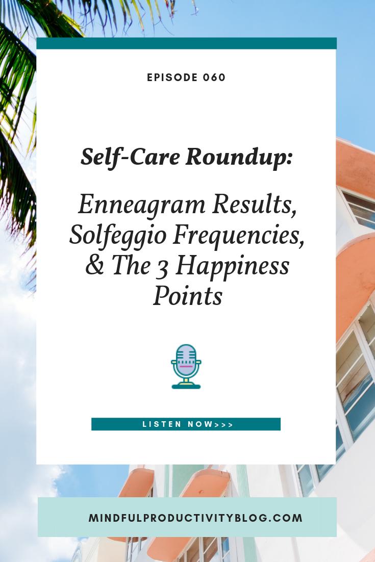 Self-Care Roundup