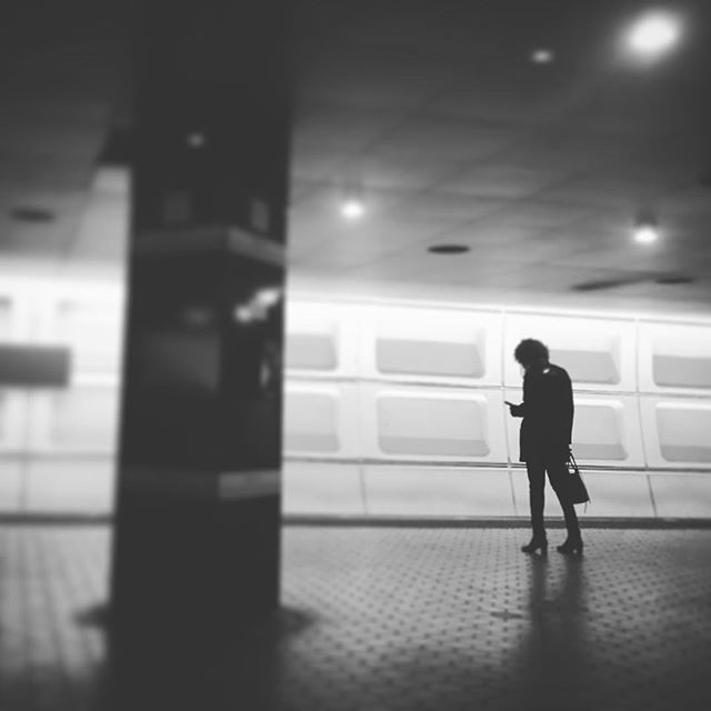 #wmata #dcmetro #washingtondc #blackandwhite