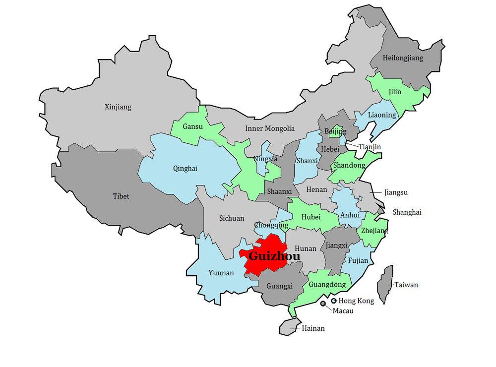 Guizhou Province China, map.jpg