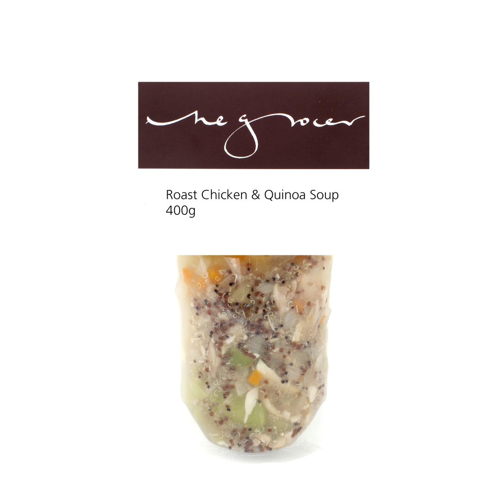 Roast Chicken & Quinoa Soup 400g - £5.95