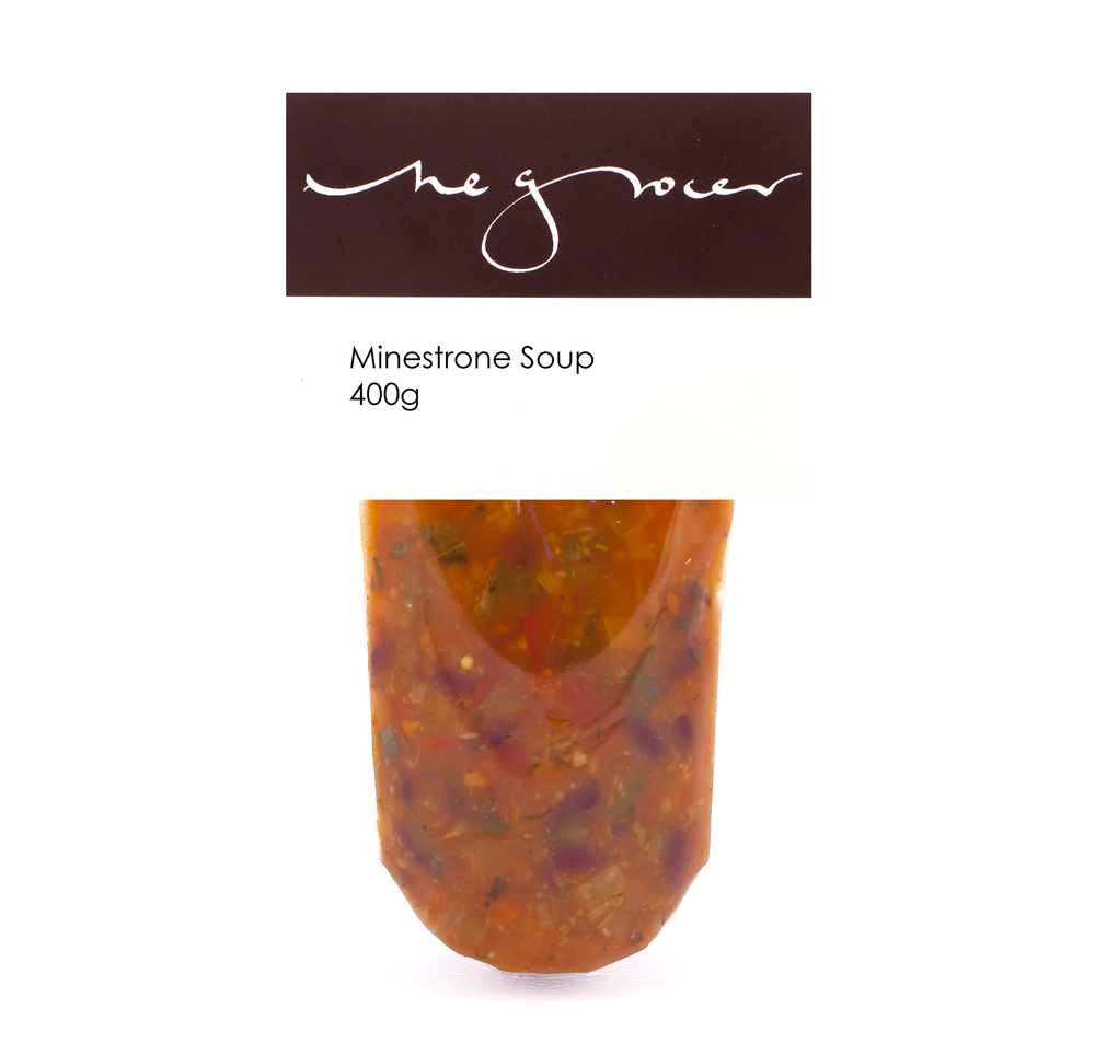 Minestrone Soup 400g - £5.60