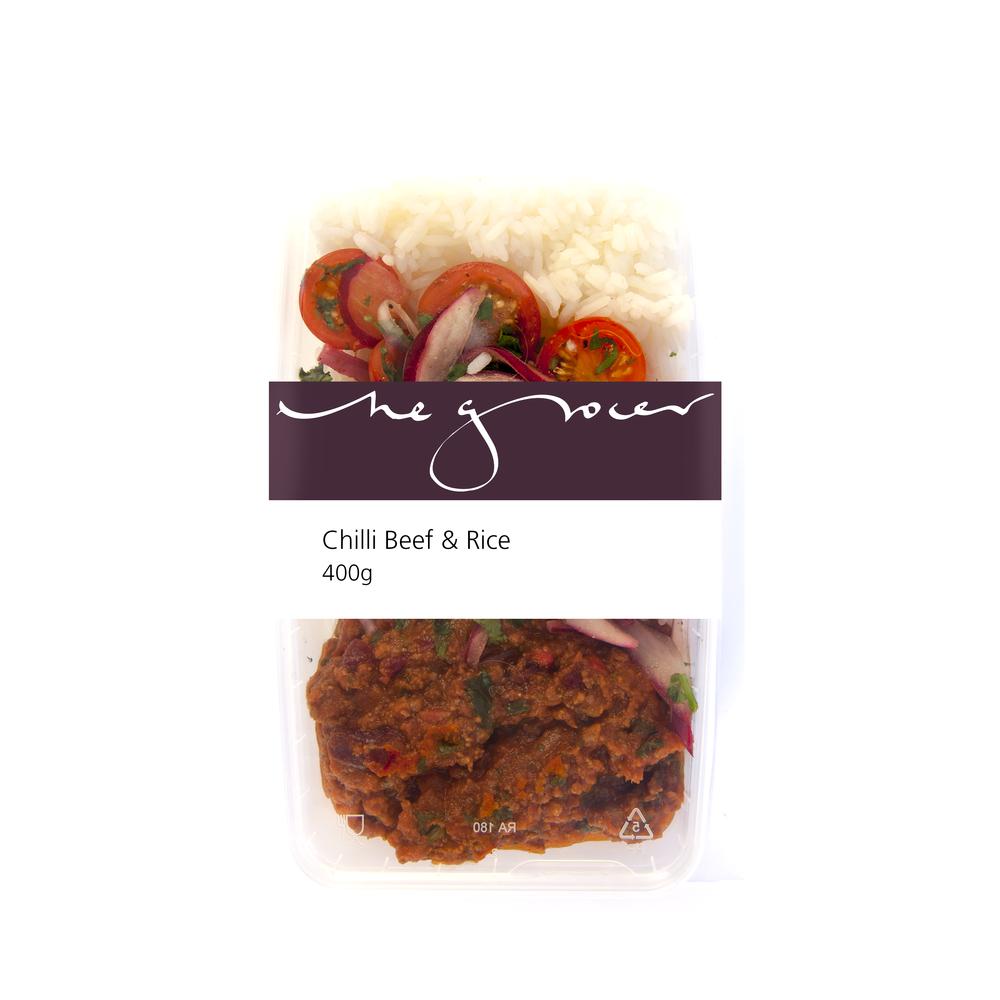 Chilli Beef & Rice 400g - £6.95