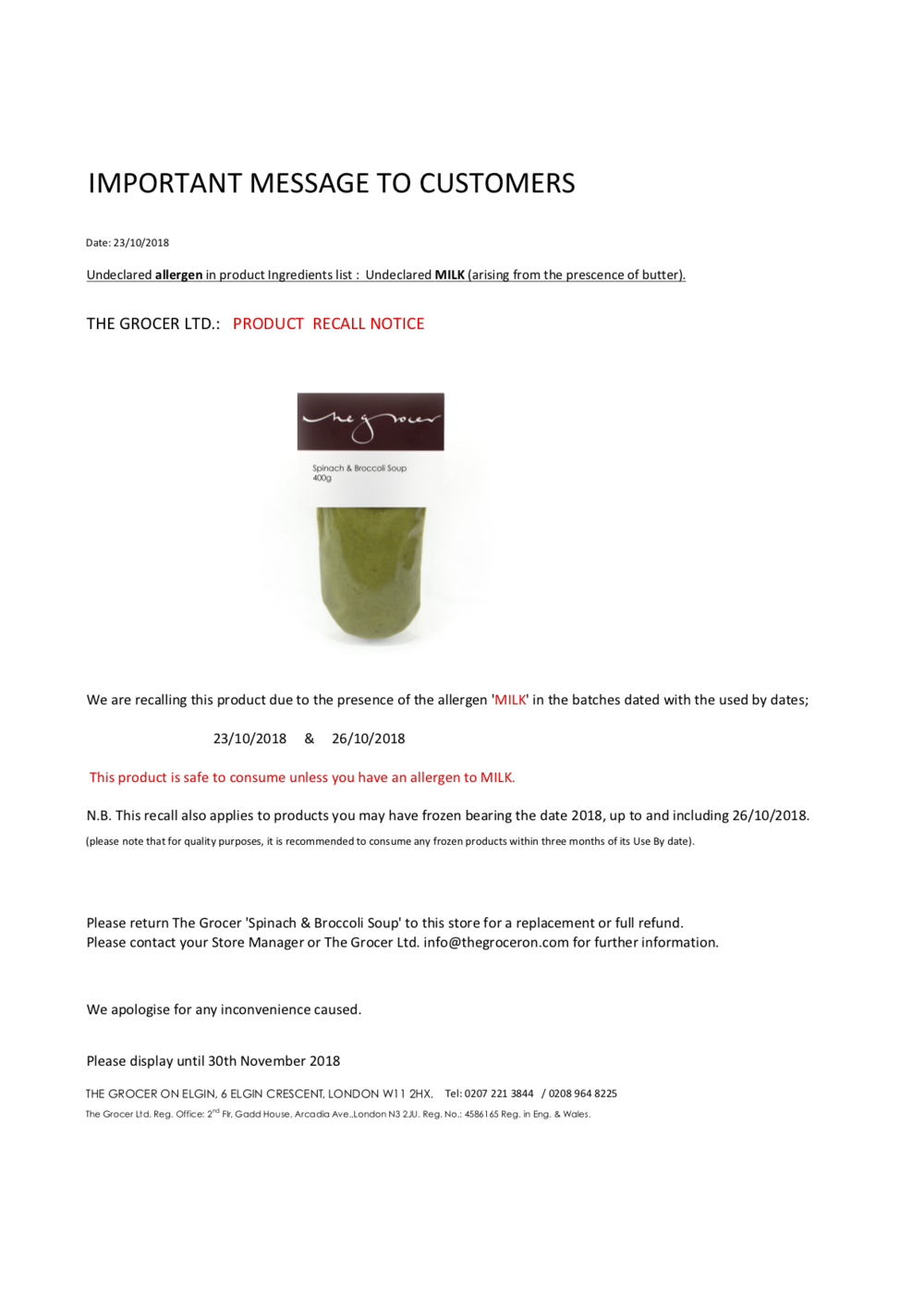 HACCP F39E-recall-spinach-broccoli soup-FSA comments Sheet1.png