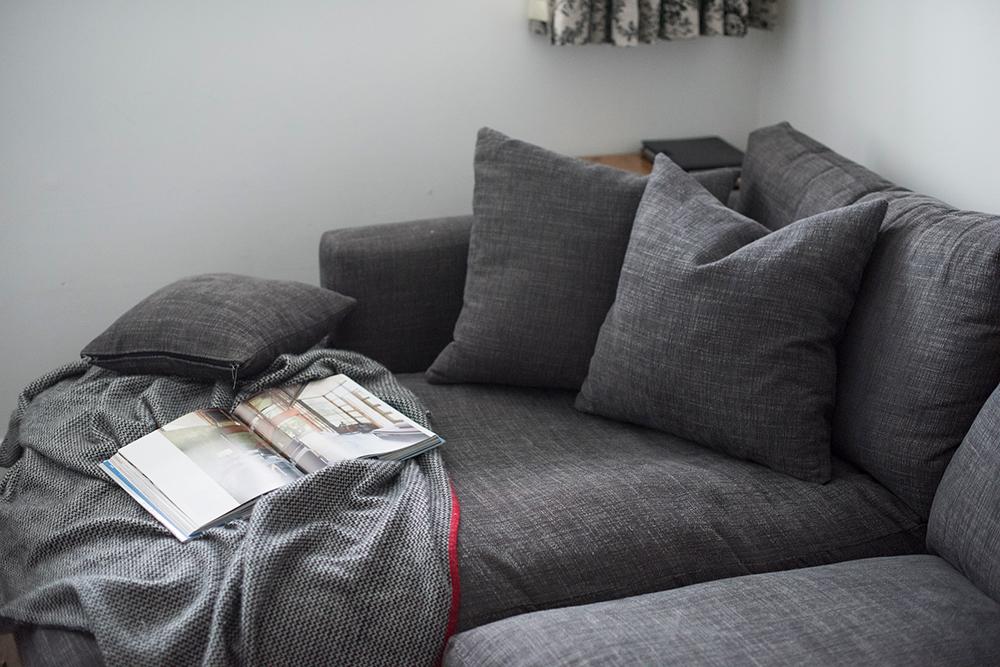 Squashy sofa