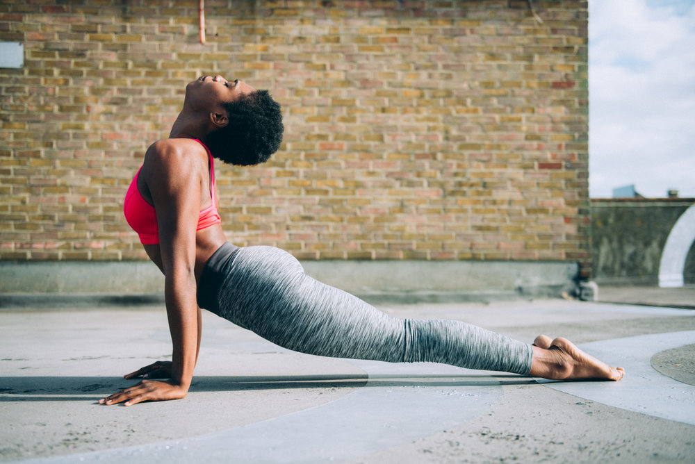 African Flow Yoga - This is an hour strong and flowing yoga class, accompanied by the soothing tones of music from Africa. Learn to follow your breath, elongate and stretch your body so you are ready to take rest and relax into your day.