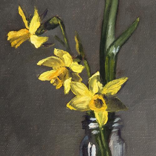 Tete-e-tete daffodils