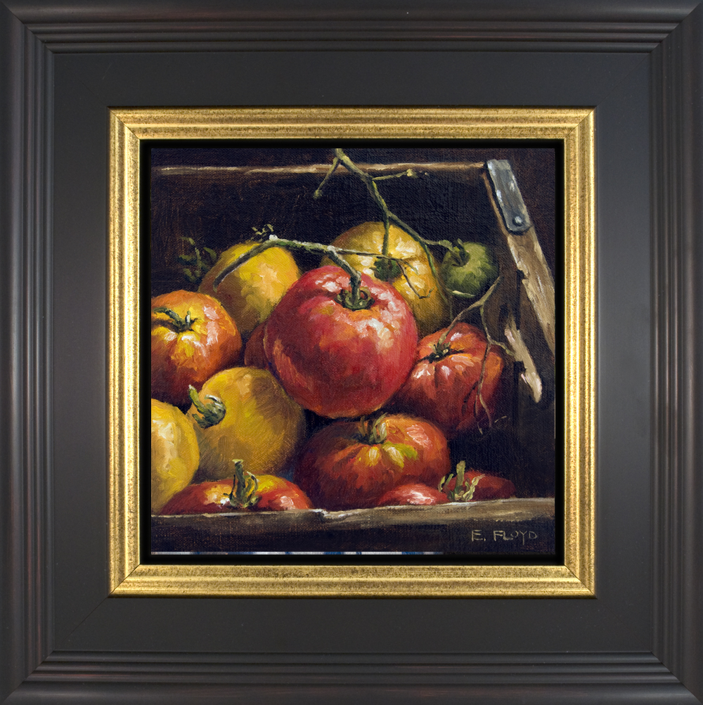 Garden Tomatoes - framed