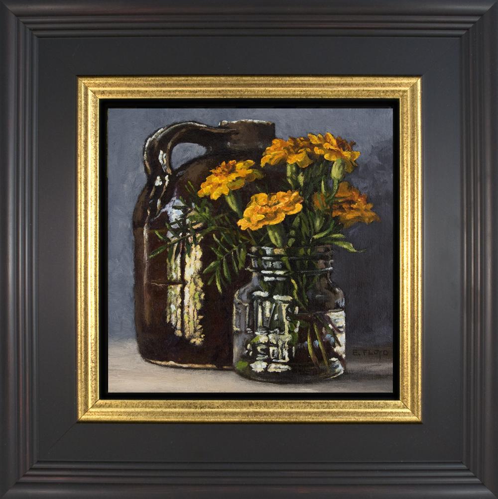 Persimmons - framed