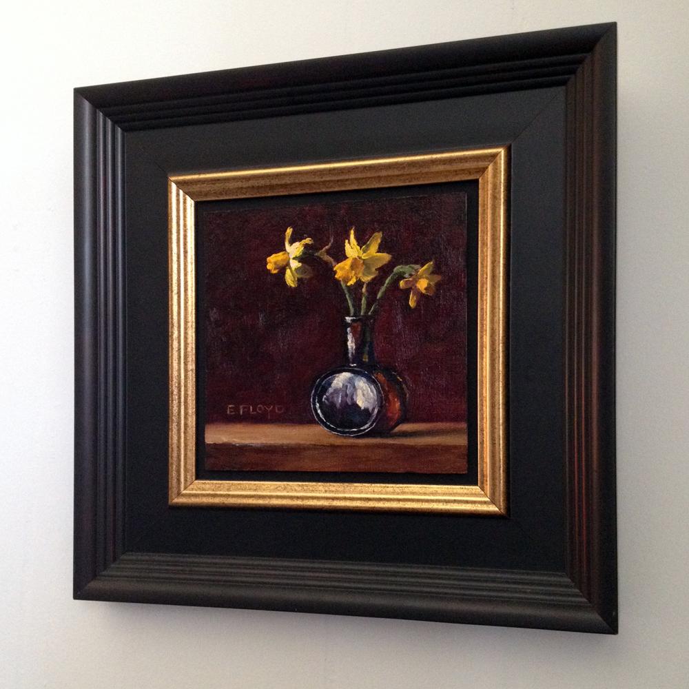 20150321-04 tete-e-tete-daffodils framed