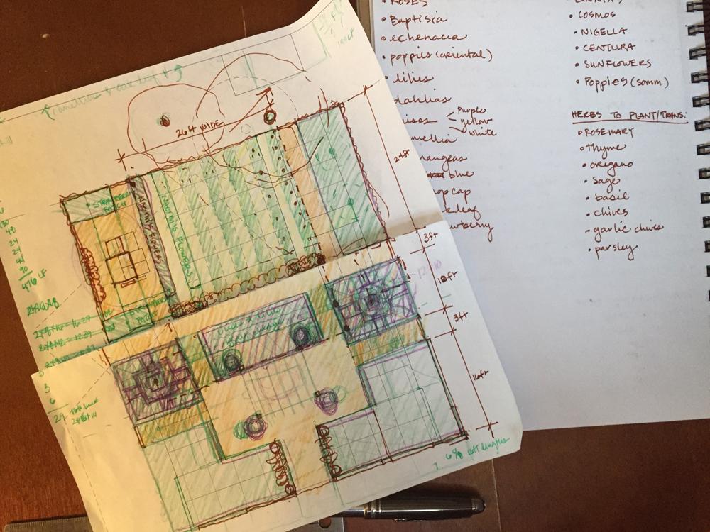 Garden Plan 1st draft
