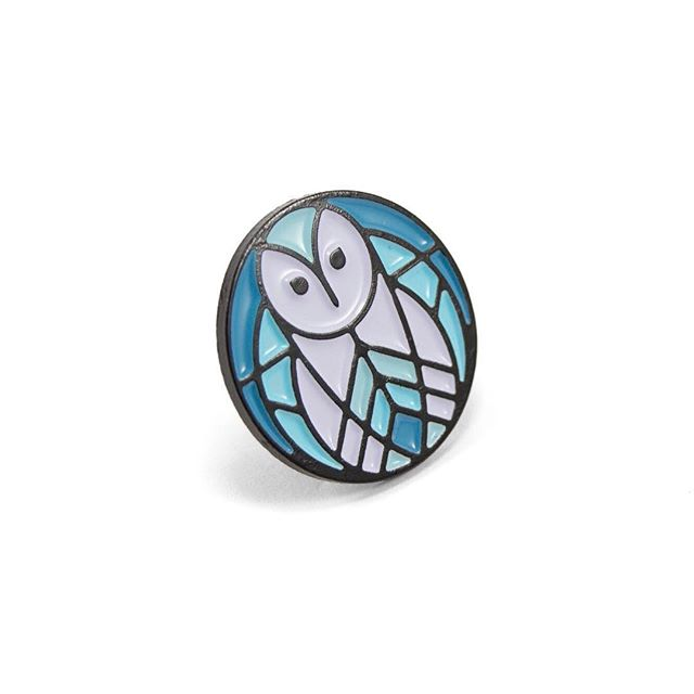 Only a handful of these lil barn owl pins left! Making room for some new stuff 😎