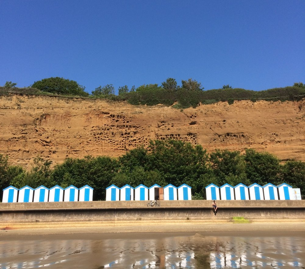Wight Water Beach Huts at Shanklin