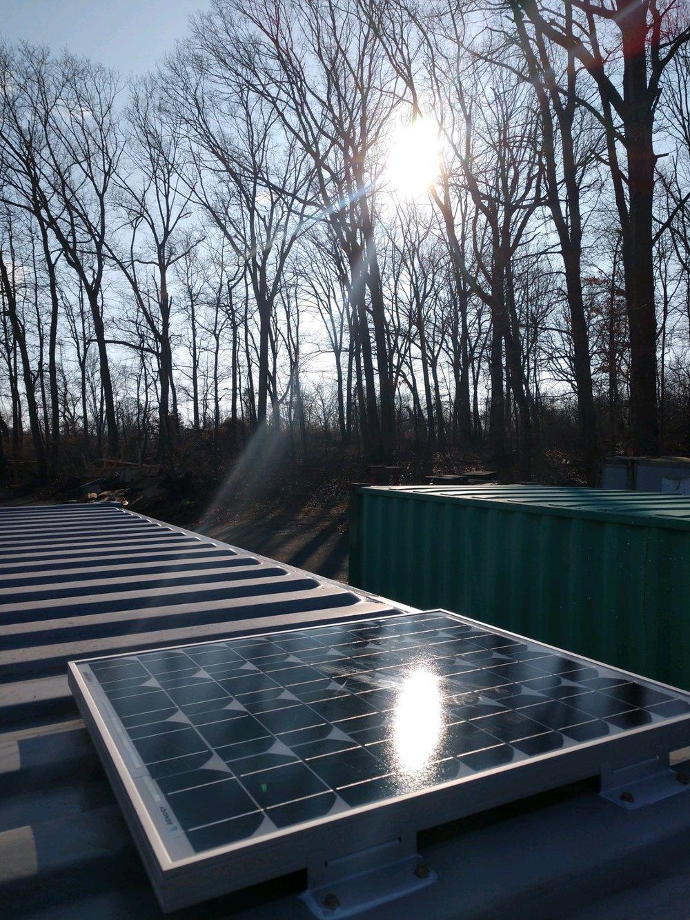 We've gone solar -
