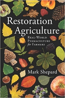 Mark Shepard's book provides a great insight into his work