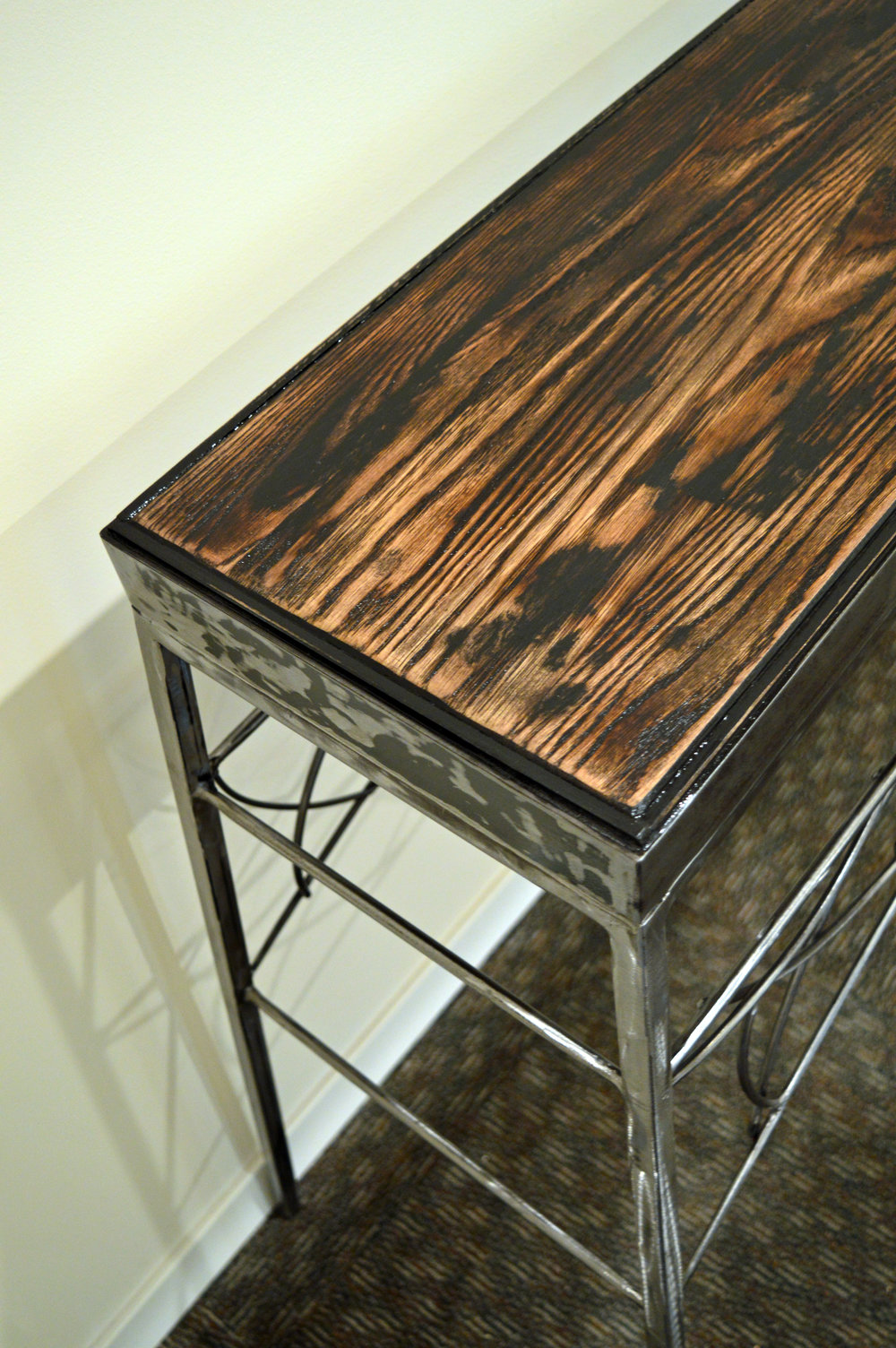 Blackened Oak Top…