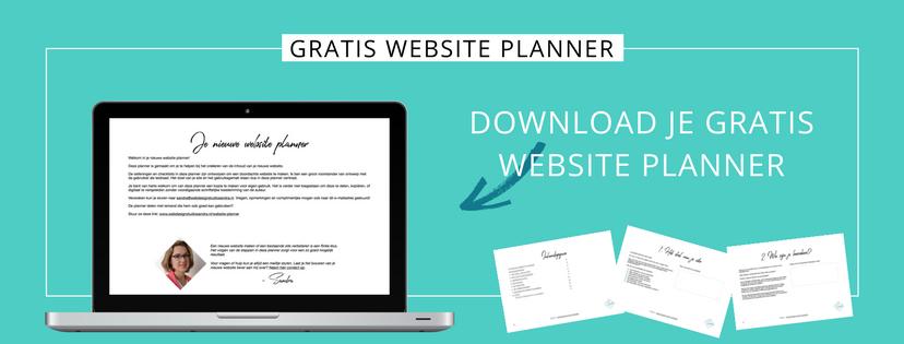 Wat komt er allemaal kijken bij het maken van een nieuwe website? Download gratis de website planner.png