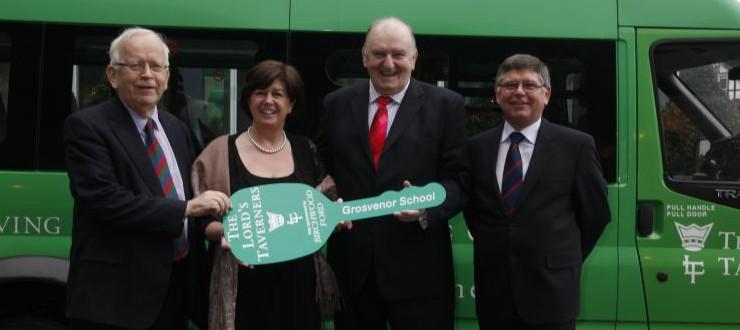 2012 Minibus recipient - Grosvenor House