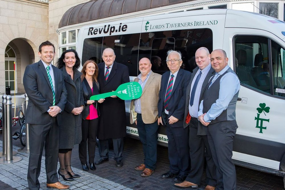 2018 REVUP Minibus Recipient –St Michaels Holy Angels School