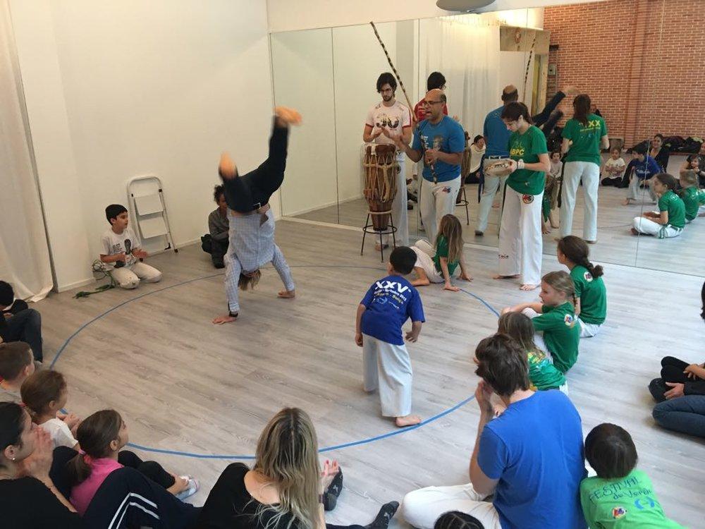 Stage de Capoeira - du 15 au 19 octobrede 9h à 12h pour les 4 à 7 ans