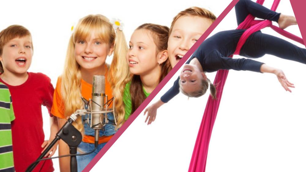 Comédie musicale& Cirque aérien - 6 à 12 ans - du 15 au 18 aVril de 14h à 17h