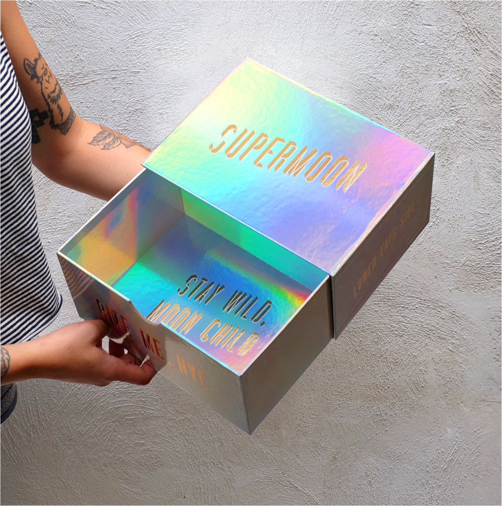 Wow Iridescent - srsly shiny boxes
