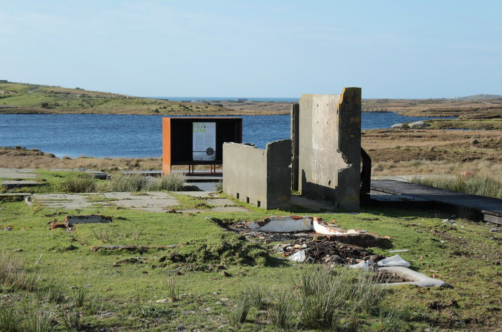 Connemara Tour – Marconi Station -  Architecture at the Edge Festival 2017 Galway & Mayo
