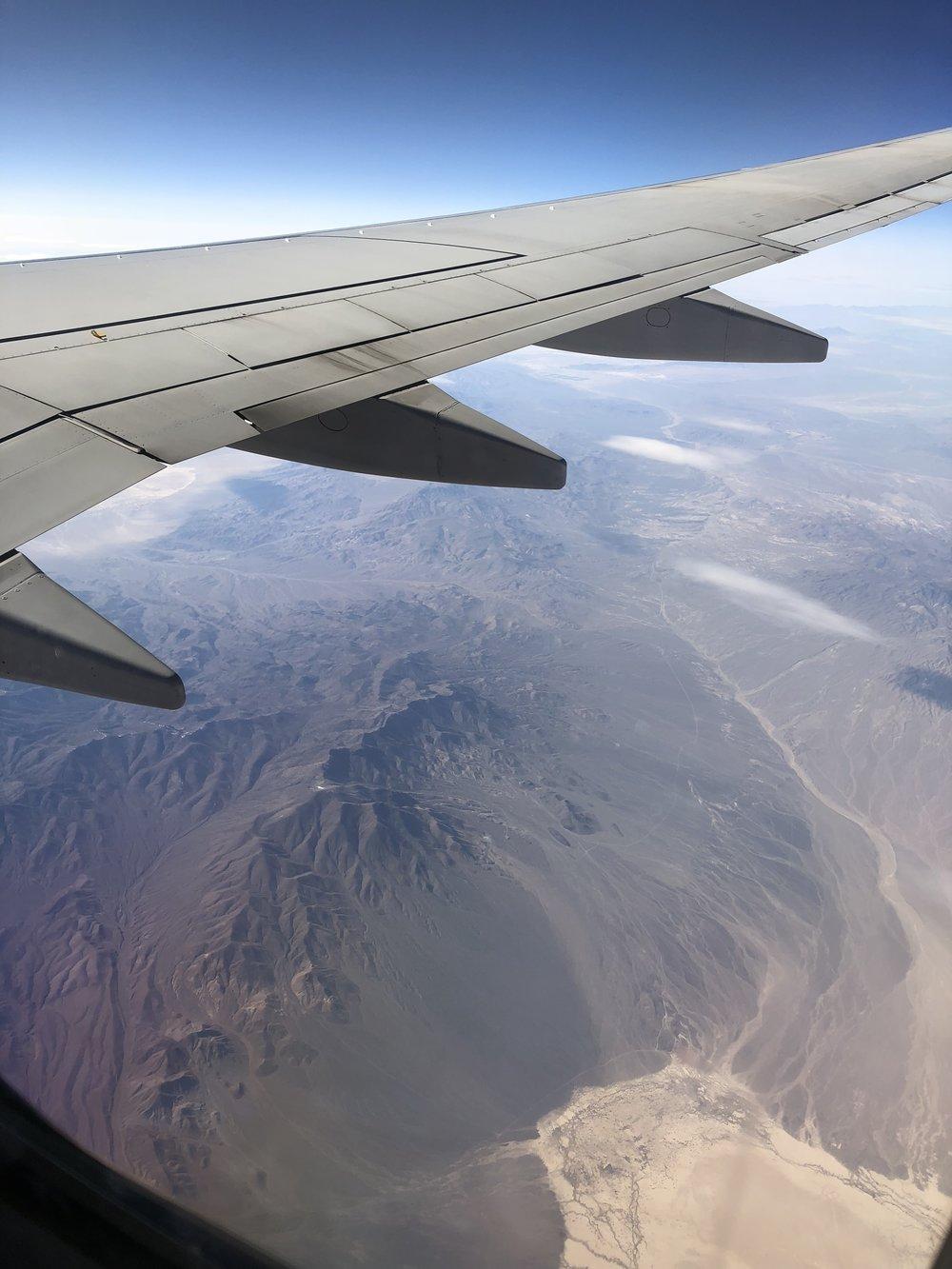 Mountain desert of Nevada