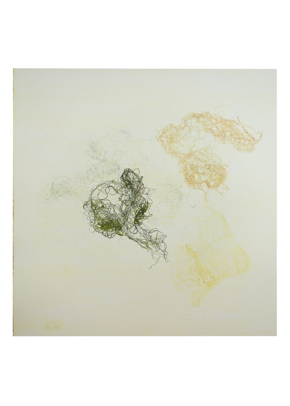 "Oberon, monoprint, image: 16"" x 15"""