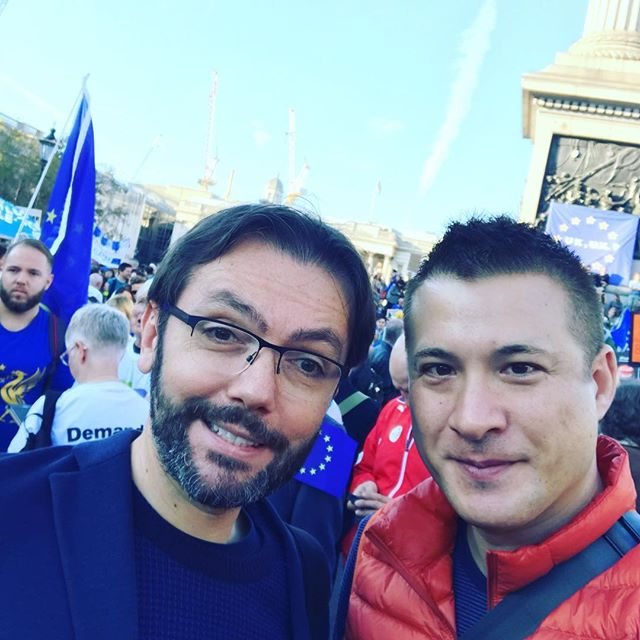 Scientist nerds marching against Brexit! @peoples_vote @BorisLenhard