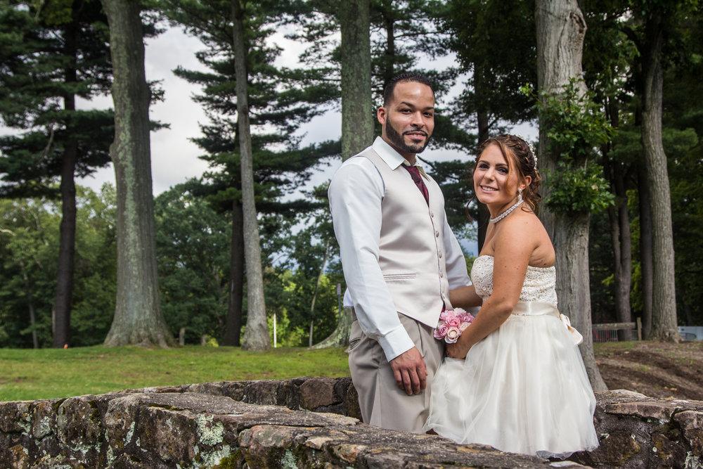 Hayley and Jose wedding photo