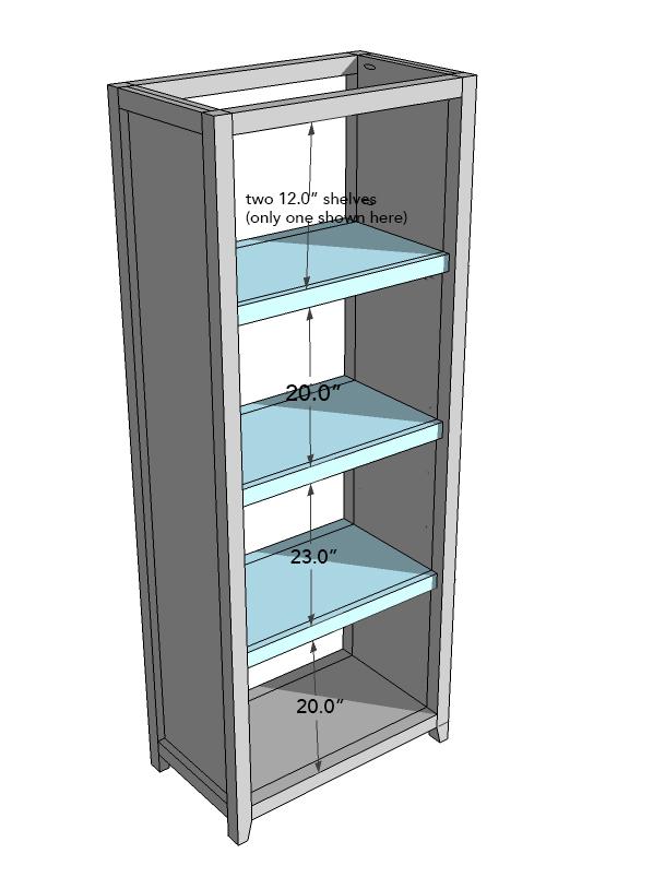 Image 6: Adding the shelves