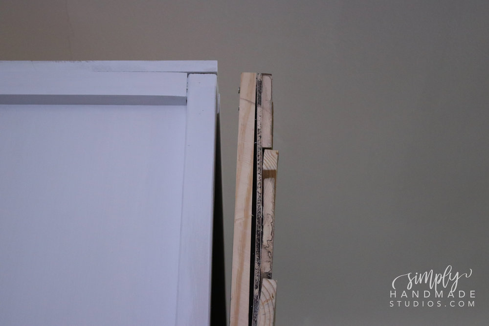 how to build a barn door - simply handmade studios