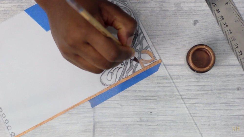 DIY Lantern with Dollar Tree Frames