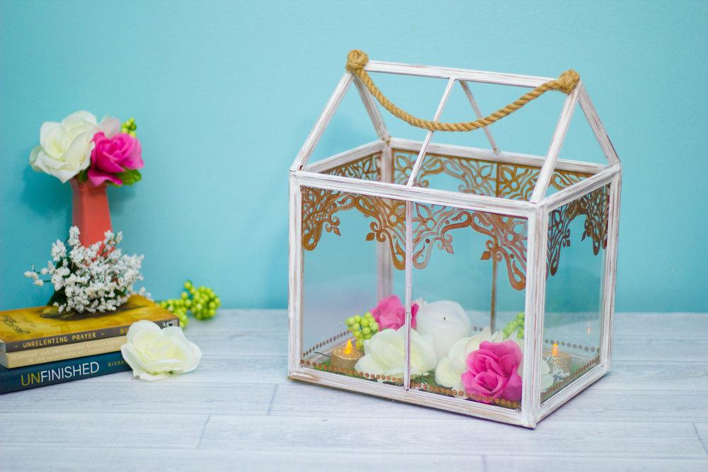 Dollar Tree DIY | Frame Lantern