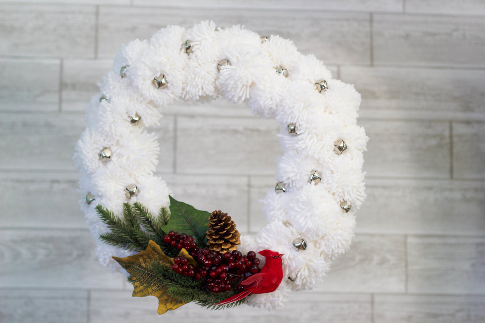 Pom Pom Christmas Wreath (COMING SOON)