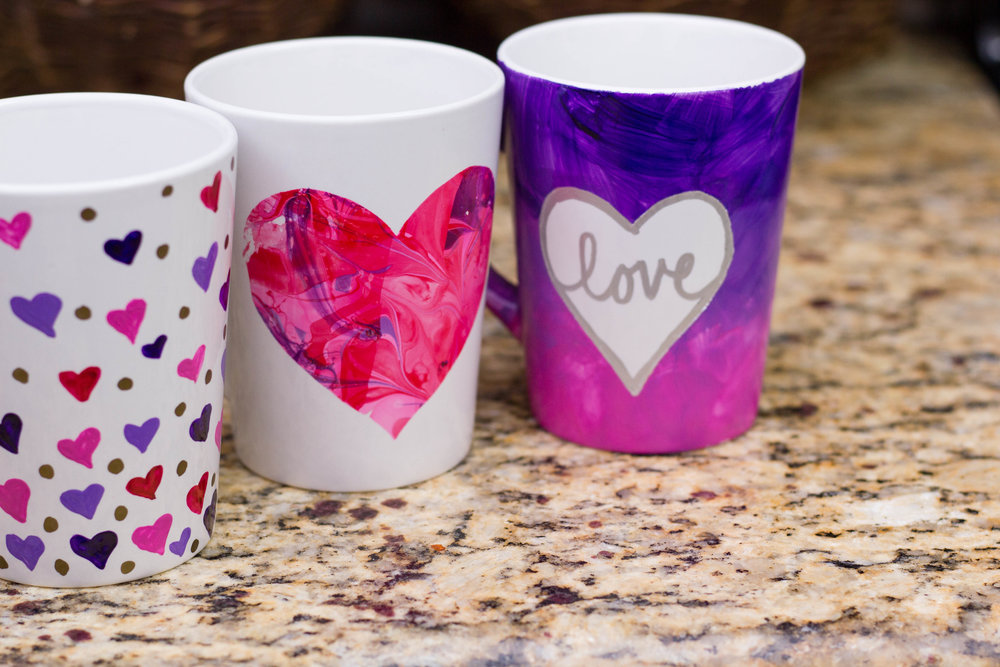 5 Valentine's Day Mugs (Kid Friendly) (COMING SOON)