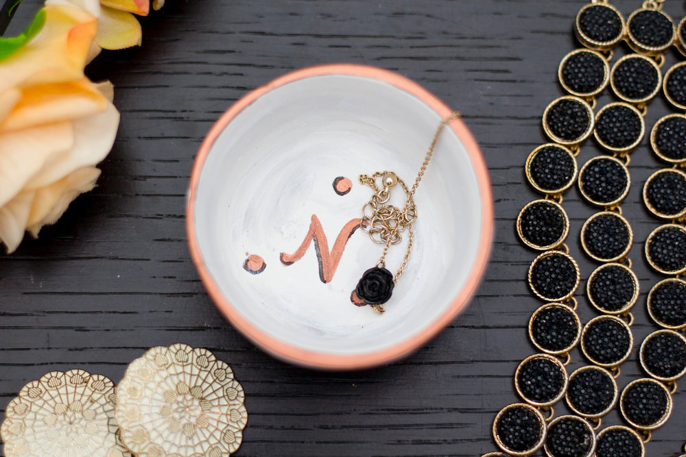 DIY Clay Trinket Dish (Anthropologie Inspired)