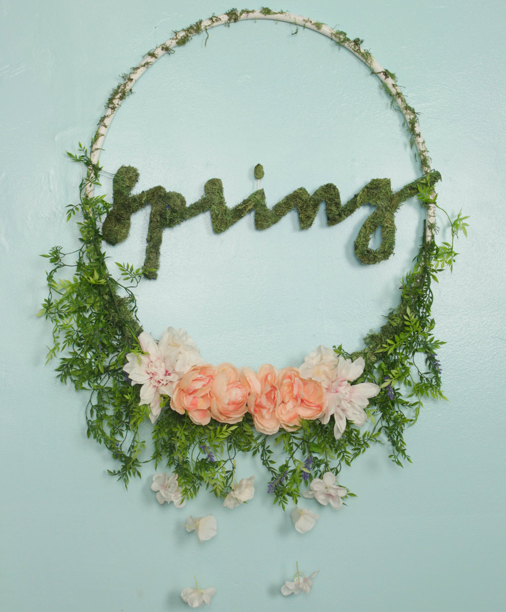DIY Spring Jumbo Wreath (COMING SOON)