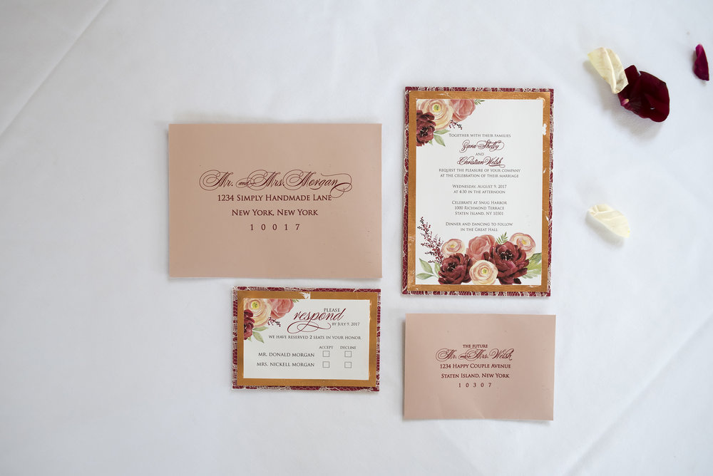 DIY Wedding Invitations on a Budget