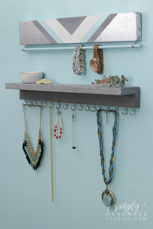 DIY Jewelry Organizer Simply Handmade Studios