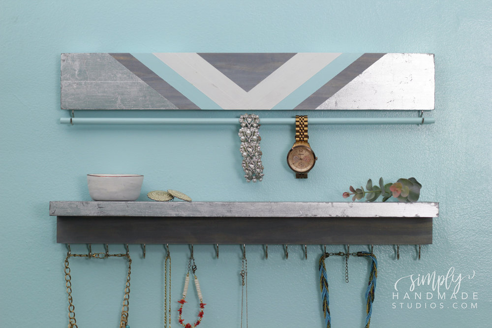 DIY Jewelry Organizer | Simply Handmade Studios