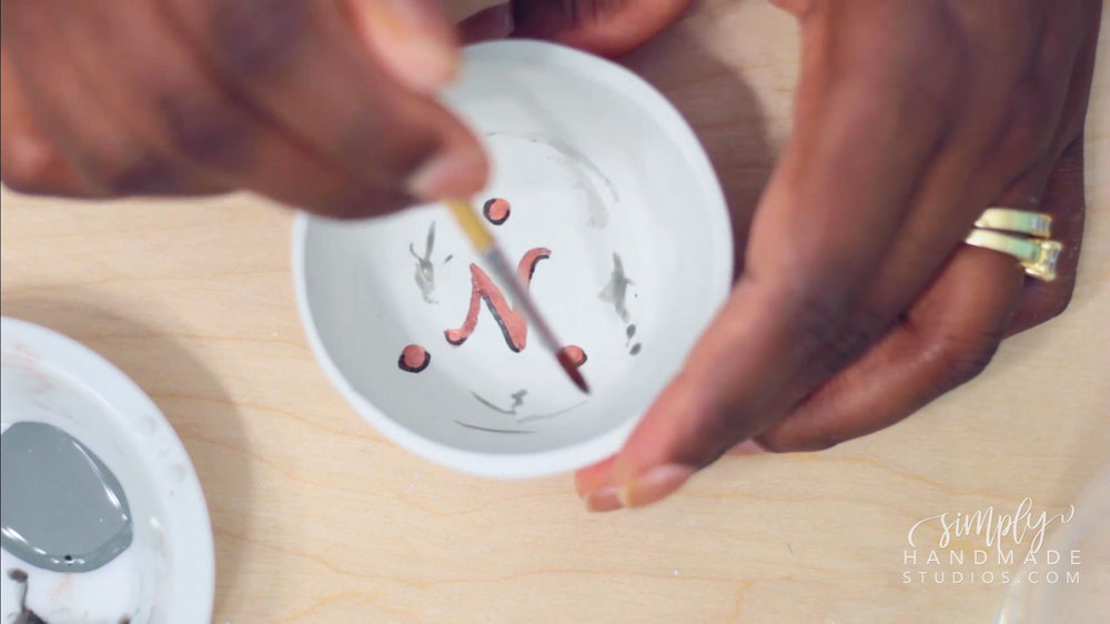 DIY Clay Trinket Dish (Anthropologie Inspired) | Simply Handmade Studios